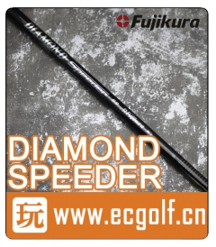 二手 杆身 FUJIKURA DIAMOND SPEEDER 6S 高尔夫一号木杆身