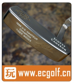 推杆 卡梅隆SCOTTY CAMERON 圈T收藏级 TIGER WOODS 3RD AMATEUR VICTORY A001375