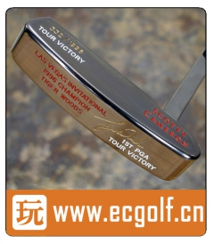 推杆 卡梅隆SCOTTY CAMERON 圈T收藏级 TIGER WOODS LAS VEGAS INVITATIONAL VICTORY A001374
