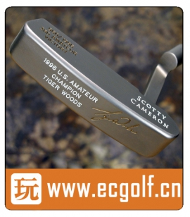 推杆 卡梅隆SCOTTY CAMERON 圈T收藏级 TIGER WOODS 3RD AMATEUR VICTORY A001388