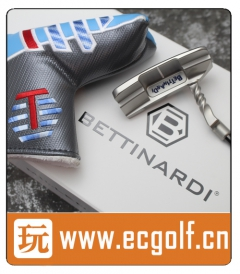 推杆 BETTINARDI QB6 DASS Twisty Neck Ganster Cat 限量款 高尔夫球杆